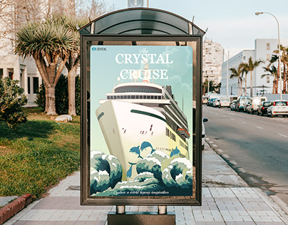 Crystal Cruise Poster
