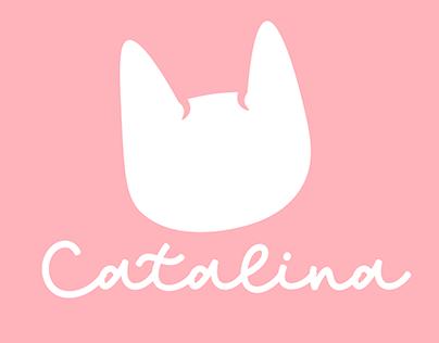 Catalina (logo y artes publicitarios)