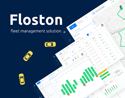 Fleet management software | ui/ux design
