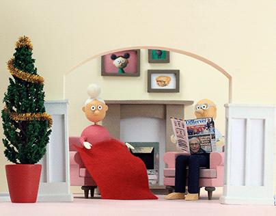 Shop Local Christmas Animation