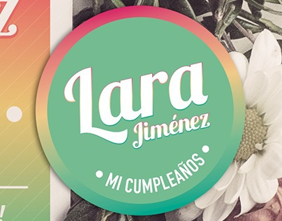 Cumpleaños Lara