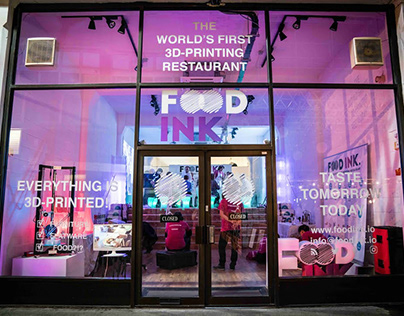 FOOD INK - First 3D Printing Restaurant