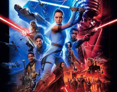 Star Wars: The Rise of Skywalker- International Poster