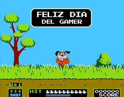 Motion día del gamer