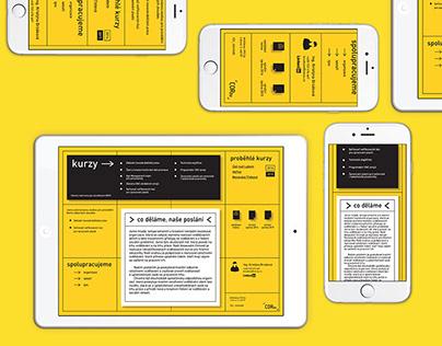 Responsive Yellow Website