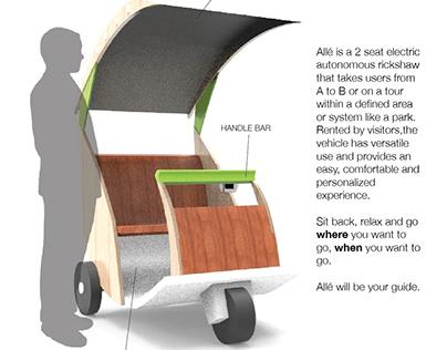 Allé - Personal Electric Vehicle [PEV] Concept