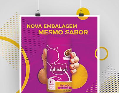 Whiskas | Projeto de Embalagem