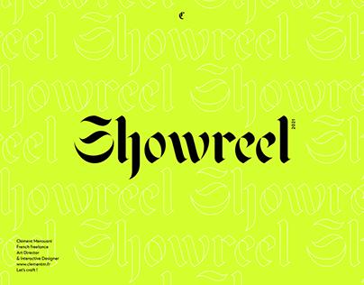 Showreel ⏤ 2021