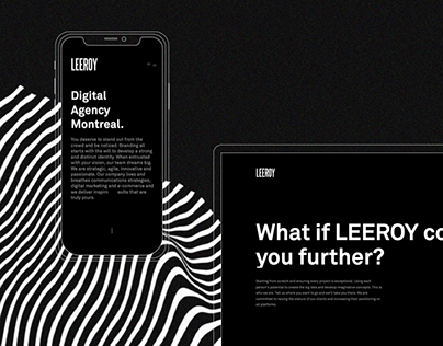 Leeroy.ca - Webdesign