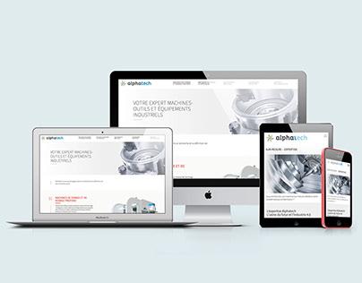 ALPHATECH - Site internet