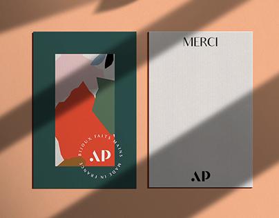 Brand identity - Andréa Peronne