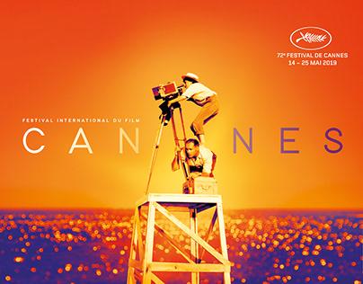 2019 Cannes Film Festival Poster