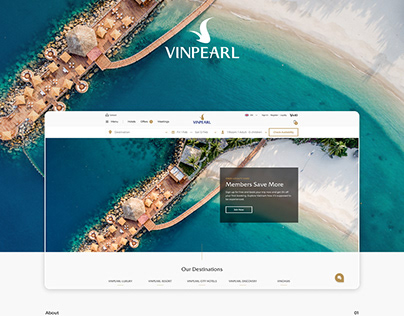 Vingroup: Vinpearl - UI/UX Design
