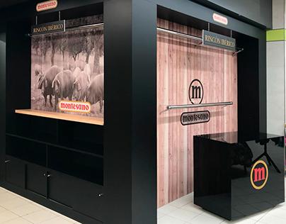Corner Expositor para Montesano