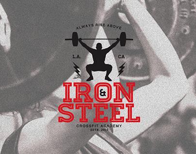 Iron & Steel Academy of Crossfit - Branding