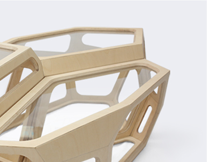 Primo Plywood Coffee Table