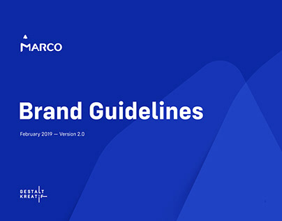 marco brand guidelines