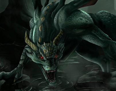 Fara, the dragon of the abyss (animación)
