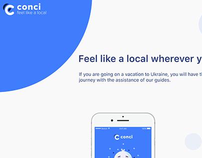 Mobile App -Conci