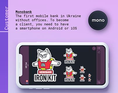 Monobank stickers