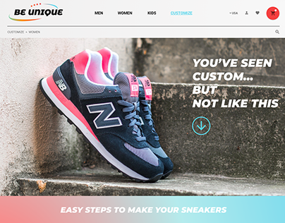 Sneaker design editor