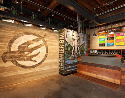 Phillips Brewing & Malting Co. Tasting Room Interior