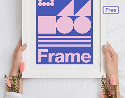 Freebie - Free PSD Frame Mockup
