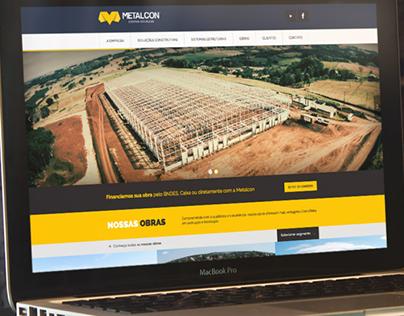 Metalcon: website, material gráfico