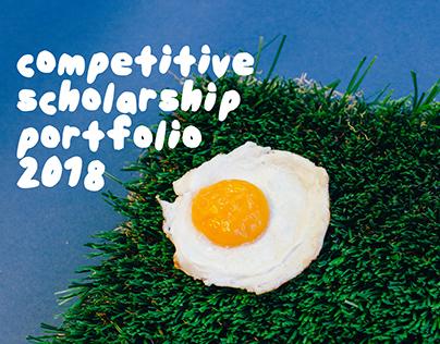 MICA Competitive Scholarship Portfolio 2018