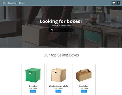 An E-commerce website.