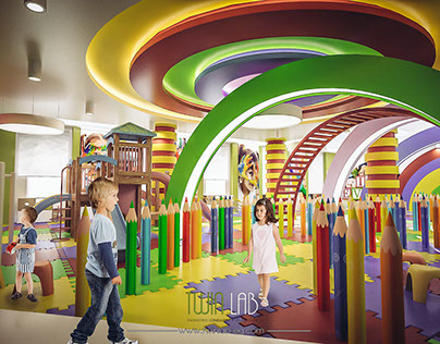School Kids Area - Saudi Arabia