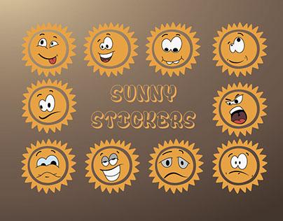 Солнечные наклейки