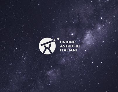 Brand Identity - Unione Astrofili Italiani