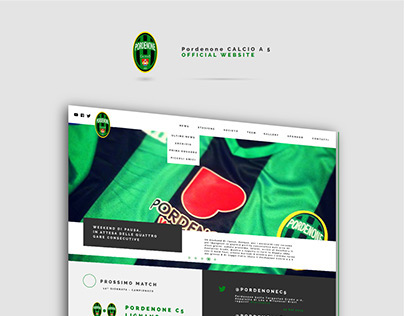 Pordenone Calcio a 5 - WEB DESIGN
