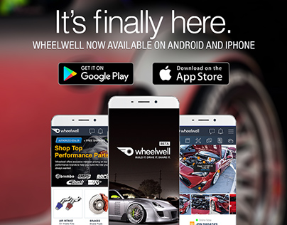 Wheelwell: Android app (2017)