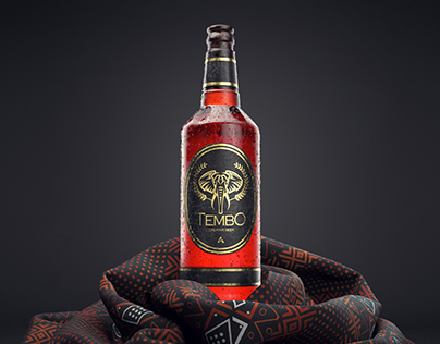 Tembo Beer   3ds Max + Redshift 3D