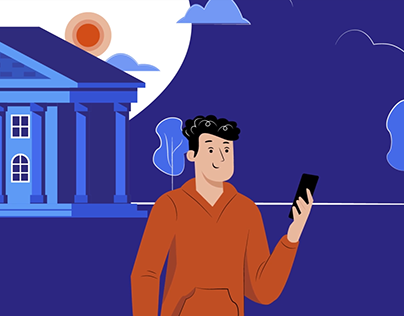 "Animation video explainer PSB bank ""Промсвязьбанк"""