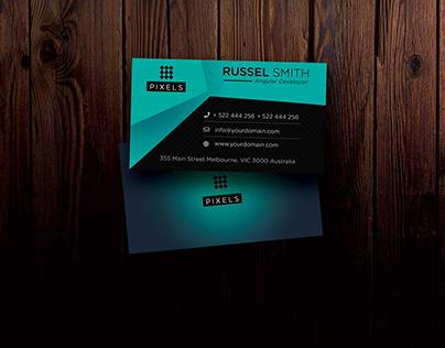 Individual Business Card Psd Mockup