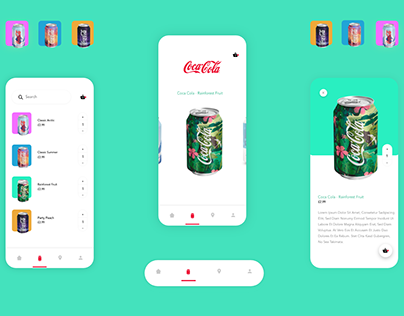 Eco-Coke Cola App