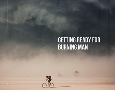 BURNING MAN — web