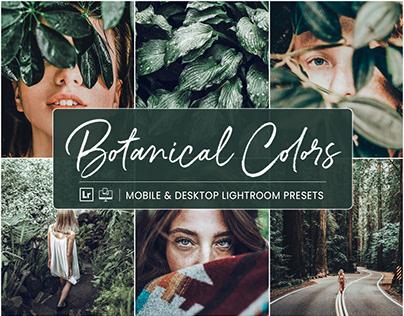 Botanical Colors - Mobile & Desktop Lightroom Presets