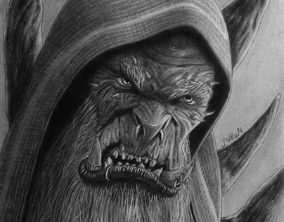 Warcraft movie drawings