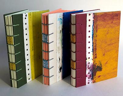 Woven Journals // Book Arts