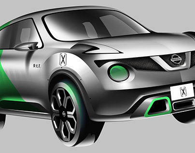 Nissan Juke Colour and Trim Project