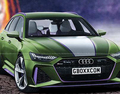 2020 Audi RS6 Avant She-Hulk Edition