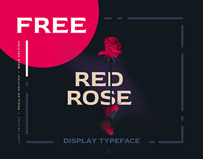 Red Rose Pro - Free Font