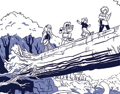 Heist (8 pg comic)