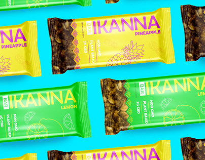 Ikanna logo & packaging