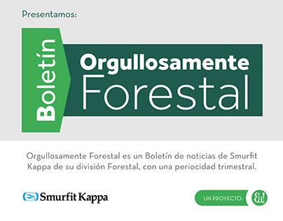 Diseño y Diagramación: Boletín Orgullosamente Forestal