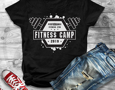 Fitness T-Shirt Design